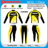 Poliester 100% de Honorapparel Biking jerseys largos de la manga