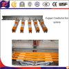 Sistema ferroviario del conduttore del rame della gru a ponte del rifornimento