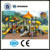 Ensemble de jeux pour enfants Équipement de terrain de jeu extérieur Diapositives en plastique