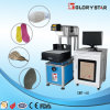 Marcação do laser do CO2 dos materiais do metalóide e máquina de gravura novas