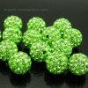 다채로운 Bling 큰 모조 다이아몬드 공 구슬