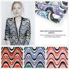 Ткань одежды Organza звезды Wave& напечатанная конструкцией