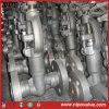 Valvola di globo d'acciaio fucinata di sigillamento di pressione