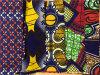 Fabbricato africano 100% della stampa della cera di Ankara del cotone