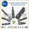 ボルトロック棒スプライスBS4449 ISO 9001はねじカプラーをボルトで固定する