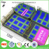 Trampolines retangulares excelentes padrão de ASTM grandes com campo de jogos