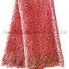 Laço africano da tela do laço do bordado para o vestido de partido