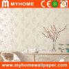 Papel pintado floral de papel decorativo con alto hacer espuma