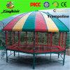 Le plus défunt trempoline hexagonal de sport avec la tente