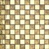 Mosaico de cristal de la hoja de oro (VMW3151)