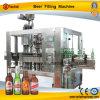 Automatische Glasflaschen-Bier-Einfüllstutzen-Maschine