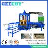 Machine de fabrication de brique concrète semi automatique de la machine à paver Qtf3-20