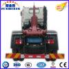 De Uitvoer van de Vuilnisauto 190HP van het Wapen van de Haak van Dongfeng 4*2 naar de Vrachtwagen van de Collector van het Afval van de Inzameling van het Huisvuil van het Broodje van het Wapen van Afrika
