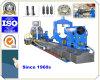 Grande máquina resistente manual do torno para rolos de aço de moedura de giro