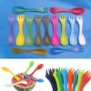 3in 1plastic Cutlery mit Spoon Fork und Knife