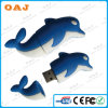 USB Stick del PVC su ordinazione 3D di Special Dolphin Shaped