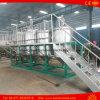 refinaria de petróleo crua da planta da refinação de petróleo do feijão de soja 12t para a venda