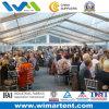 PVC Tent 15mx50m Transparent Aluminum Structure для 600 People Party