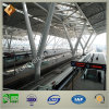 Pipe de acero Truss Structure Roof para Railway Station