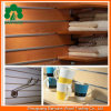 멜라민 Faced Slotted MDF Slatwall Board 또는 Slotted Melamine Faced MDF