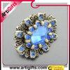 Blaues Rosen-Metallhängendes Pin-Abzeichen