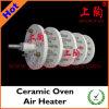 Calentador de aire de cerámica del horno