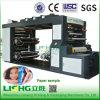 Tipo impresora del apilado de 4 colores de Flexo del papel