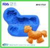 Series animal 3D Horse Pattern Silicone Fondant Mold