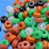 주문 소형 다채로운 실리콘고무 밧줄 고리