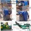 Neumático inútil Semi-Auto que recicla la máquina, trituradora de goma