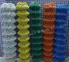 Cerca revestida del acoplamiento de cadena del PVC de China (HP-005)