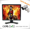 15 pulgadas LCD CCTV Monitor con BNC / VGA / AV / USB para la cámara de CCTV / Sistema de Seguridad