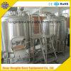 Equipo de la cervecería de la cerveza del acero inoxidable con la fermentadora completa para la venta