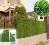 장식 정원 잔디 벽 담 플라스틱 회양목 위원회 인공적인 산울타리