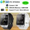 De intelligente Slimme Telefoon van het Horloge met de Groef van de Kaart SIM (GV18)