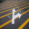 Vernice termoplastica sicura della marcatura di strada del bordo della strada giallo