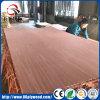 Madera contrachapada laminada chapa de madera decorativa de Gurjan de la melamina