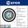 Cable óptico de Severial de la fibra al aire libre de los alambres de acero (GYTA53+33)