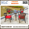 Таблица ротанга и стул/напольная таблица устанавливают/алюминиевая установленная таблица (SC-A7142)