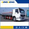 Vrachtwagen 25cbm van de Tanker van de Brandstof van Bowser Truck/HOWO van de Brandstof van Sinotruk 6X4