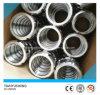 De Sanitaire Gesmede Unie van het roestvrij staal 304/316L