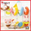 Brinquedos de suspensão ajustados espirais do chocalho da ucha de Bell do brinquedo da base & do carrinho de criança para o bebê