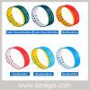 De twee Waterdichte LEIDENE van het Horloge van de Sport van het Silicone van de kleur 3D Slimme Armband van de Manier