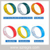 Reloj de silicona de dos colores reloj impermeable LED 3D pulsera inteligente