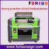 Impressora Flatbed do diodo emissor de luz de Digitas A3 para o metal, cerâmico UV, de vidro, de madeira, plástico, o PVC etc.