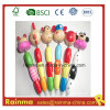 Craft en bois Pencil avec Animal Cartoon Design