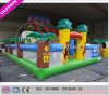 Nuovo e Highquality Outdoor Inflatable Trampoline Park con Big Air Blower (Lilytoys-New-037)