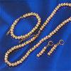 [إكسوبينغ] نوع ذهب يصفح نمط مجوهرات كرة سلاسل يثبت (61165)