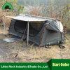 أستراليا وحيدة ومزدوجة يخيّم قطب نوع خيش [سوغ] خيمة