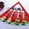 Торт нержавеющей стали сформировал комплект Cutlery ручки Polyresin